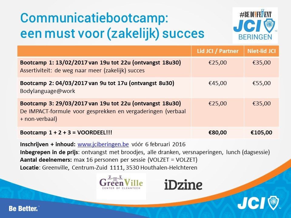 Communicatiebootcamp