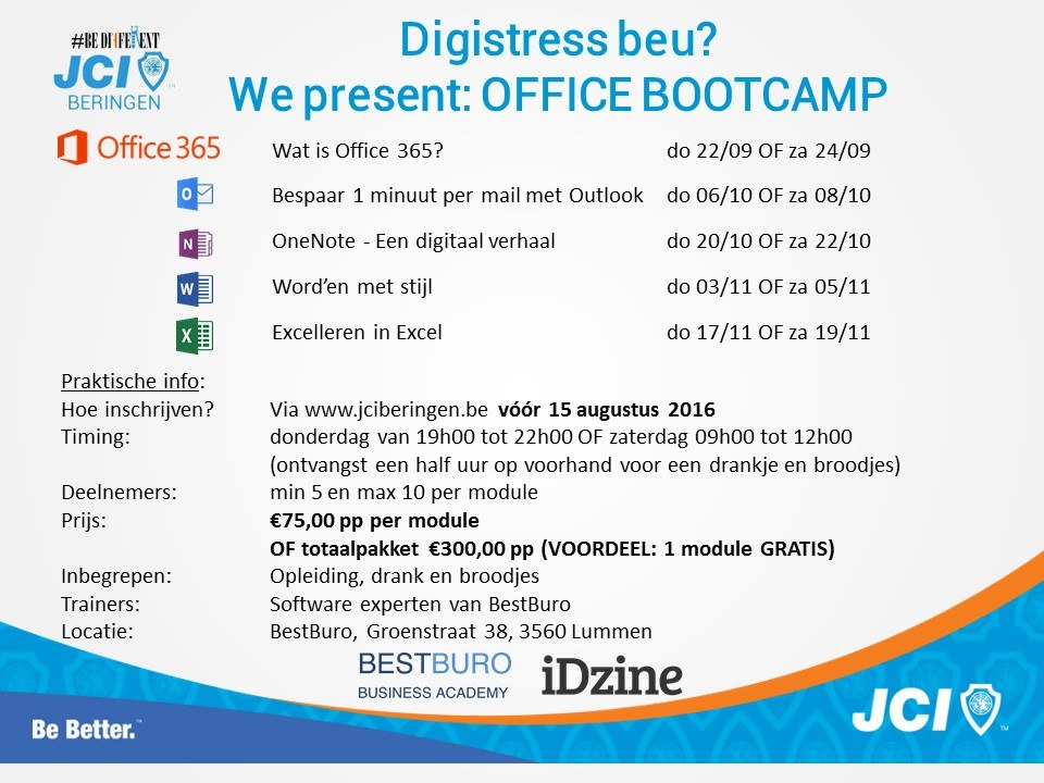 Office Bootcamp 2016
